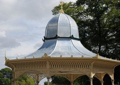 Newcastle Exhibition Park Bandstand