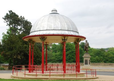 Saltaire Bandstand, Roberts Park, Bradford