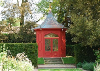 Chinese Pavilion in a Private Berkshire Garden